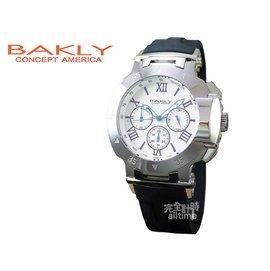完全計時手錶館 專櫃品牌BAKLY 街頭系列 重裝武器 腕錶  BA9017~4 白鋼戰士