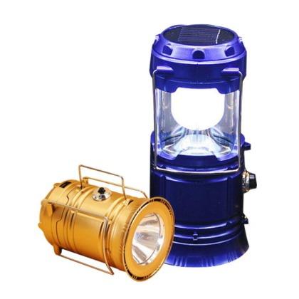 超亮LED太陽能燈 手電筒 露營燈 緊急照明應急燈 USB 太陽能探照燈【GG436】◎9