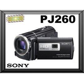 ~電擊屋~SONY HDR~PJ230 貨 PJ230 DV 攝影機 Full HD 內建
