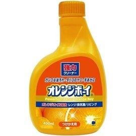 第一石鹼 ~ 橘油強力泡沫去污清潔劑 萬用噴劑 補充瓶 柑橘香 壁面瓷磚 排油煙機 瓦斯爐