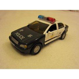 ~KENTIM玩具城~ EAPAO警車^(管區巡邏車警備車^)擬真烤漆合金收藏精緻迴力車^