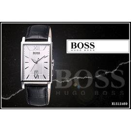 ☆【時間道】 #x0ff3b BOSS #x0ff3d 完美簡約復刻腕錶-黑 H15124