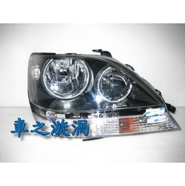 ~~~車之漩渦~~~LEXUS 凌志 RX300 RX~300 黑框CCFL雙光圈大燈組