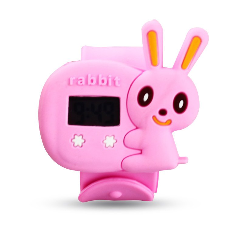 特价儿童手表全新2013年电子表胶方型数字可爱童真7mm
