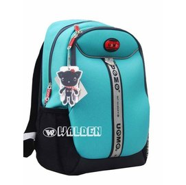 ~葳爾登~UNME小學生書包超輕護肩 背包兒童後背包3M反光 製護脊書包3092藍綠色