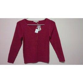 ~  ~法國品牌 ~Bonpoint~女童單排扣針織毛衣