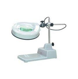 ^~三市儀器ZAK~TECH^~工作放大鏡燈~檯燈式5X放大鏡燈^(含日光燈管^)