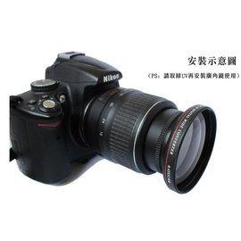 ^(^(RedFoot^)^)零距離第 58mm超薄0.45x廣角鏡外加鏡 首發