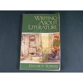 ~懶得出門 書~~Writing About Literature~Edgar V. Ro