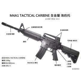 ^~^~翔準光學^~^~~SRC~全金屬M4A1戰鬥版II海豹托生存遊戲電動槍有 收藏訓練