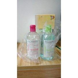 2013年7月生產 法國BIODERMA 貝德瑪高效卸 妝潔膚液500 ml 舒妍 淨妍