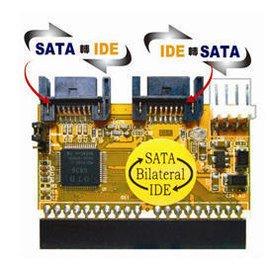 ~野豬~ 伽利略 IDE SATA 雙向轉接卡 雙向轉換傳輸/支援750G  180  中