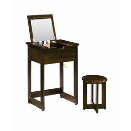 家事達   TMT~AR~868 869 吉品實木化妝桌椅組~ ~