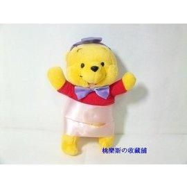 迪士尼小熊維尼樂園限定版可愛玩偶娃娃