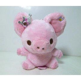 piggy girl系列piggy girl粉紅皇冠豬女孩玩偶娃娃吊鍊