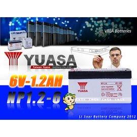 ☼台中苙翔電池►YUASA^(NP1.2~66V1.2AH^) NP7~12WP7.2~1