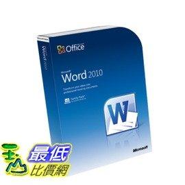 玉山最低 網  059~07623 微軟Word 2010 32~bit x64 中文盒