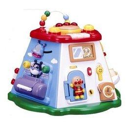 ~麵包超人系列~麵包超人六面盒18種玩法寶寶益智玩具