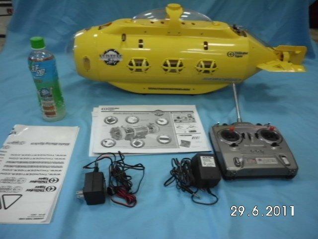 遥控船与艇  雷虎出品潜水艇全套含含遥控器