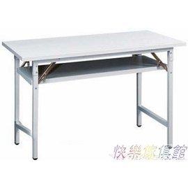 AB~0014 ~快樂傢俱館~ 4^~1.5尺直角白面折合桌 會議桌
