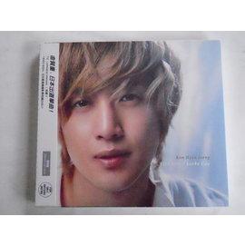 金賢重 ~~KISS KISS Lucky Guy 日文單曲初回版 ~~ ~~CD DVD