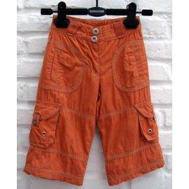 ~歐單~質好薄款長褲/橘色  68 74 80cm