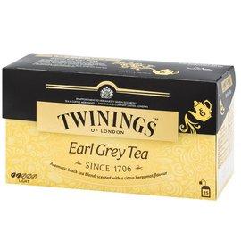 英國~TWININGS 唐寧~EARL GREY TEA 皇家伯爵茶包2g^~25入 盒