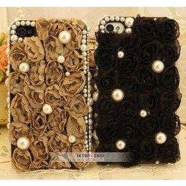 性感美梅╭☆ ■ 專區■ 玫瑰蕾絲款 iphone4s 5 手機殼 外殼 保護殼 客製化