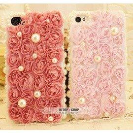 性感美梅╭☆ ■ 專區■ 玫瑰蕾絲款 iphone手機殼 外殼保護殼 客製化 免