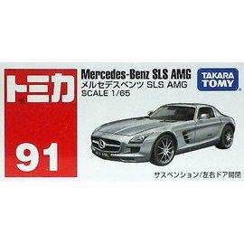 TOMICA 多美小汽車 TM091 NO.91 賓士 Mercedes~Benz SLS