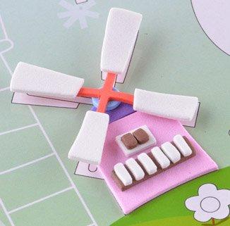 童手工制作材料幼儿园3D立体eva海绵纸贴画粘贴画拼图