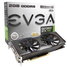 艾維克EVGA GTX760 2GB SC ACX 2BIOS BackplateGD D