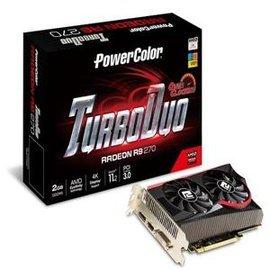 撼訊 TurboDuo R9 270 2GB GDDR5 OC 3D圖形加速卡