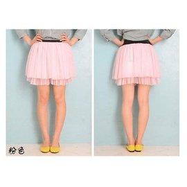 尋寶園^~2011春裙 五層蕾絲網紗裙 蓬蓬裙 蛋糕裙 打底裙 公主裙~粉色