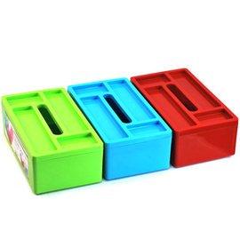 堅美帶四格收納盒多用紙巾盒(9724)