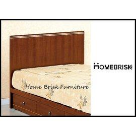 ~宏興HOME BRISK~歐爾3.5尺胡桃色床頭片,~QM新品14~