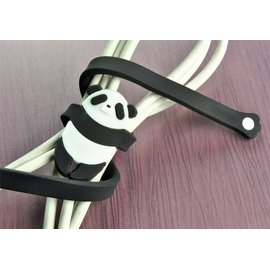喜朋SiPALS  熊貓 纏線器  繞線器 捲線器 整理器 理線器 集線器 記憶金屬 中