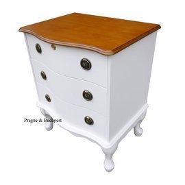 布拉格歐風傢俱~凱薩琳三抽櫃 床頭櫃 三斗櫃 收納櫃 ^#1593~3T 本月 2799