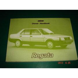 早期汔車操作手冊~ FLAT REGATA OWNER HANDBOOK ~CS超聖文化讚