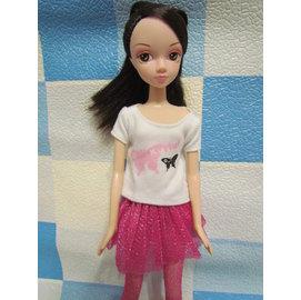 奇異果芭比屋~ 可兒娃娃2件組衣服 褲裙~ 中取出