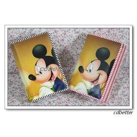 米奇米妮卡通可愛 簡約二折中款女士兒童錢包錢夾皮夾 包郵