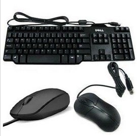戴爾DELL SK8115鍵鼠套裝 有線鍵盤鼠標 電腦台式筆記本外接USB
