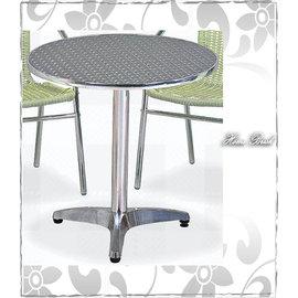 ~HOME BRISK~2尺鋁鐵圓桌,滿3000元台北、桃園、基隆市區~BA NEW~
