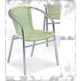 ~HOME BRISK~藤製鋁椅~白 綠,滿3000元台北、桃園、基隆市區~BA NEW~
