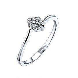 品牌首飾專櫃正品八心八箭白金 結婚鑽戒女鑽石戒指 求婚戒子包郵