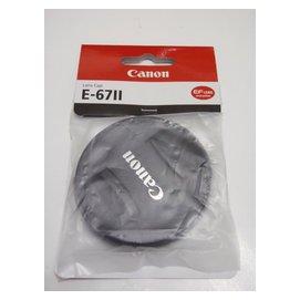 有  CANON  鏡頭蓋 鏡頭前蓋 67mm E~67II E67II EF~S 18~