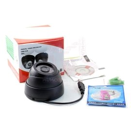 紅外線監視器 夜視監視器 圓球監視器 監控攝影機 影音同步 循環錄影 插卡式 DVR~33