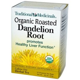 Traditional Medicinals 蒲公英茶包,無咖啡因:16 個茶包 ~ Or