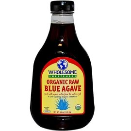 Wholesome Sweeteners Inc. 生藍色龍舌蘭,琥珀色:44 oz ^(