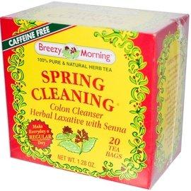Breezy Morning Teas 全天然幫助排便順暢花草茶,含番瀉葉、蒲公英,無咖啡